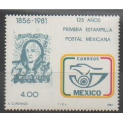 Mexico - 1981 - Nb 935 - Stamps on stamps