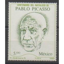 Mexique - 1981 - No 942 - Célébrités - Peinture
