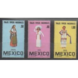 Mexique - 1981 - No 927/929 - Costumes
