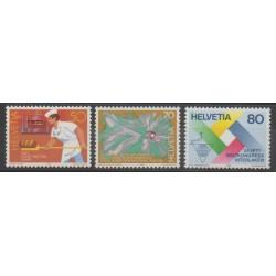 Swiss - 1985 - Nb 1230/1232