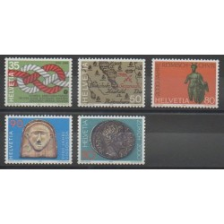 Suisse - 1986 - No 1237/1241 - Art