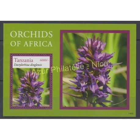 Tanzanie - 2014 - No BF 600 - orchidées