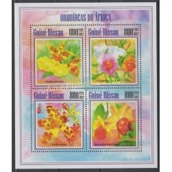 Guinée-Bissau - 2013 - No 5165/5168 - orchidées