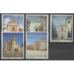 Mexique - 1980 - No PA520/PA524 - Monuments