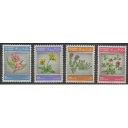 Oman - 1982 - No 212/215 - Fleurs