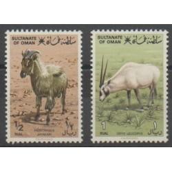 Oman - 1982 - No 222/223 - Mammifères