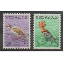 Oman - 1982 - Nb 220/221 - Birds