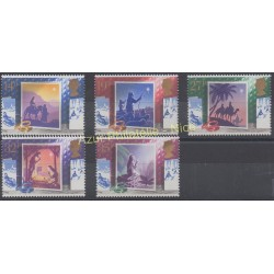 Grande-Bretagne - 1988 - No 1358/1362 - Noël
