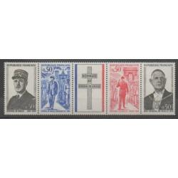 France - Poste - 1971 - Nb 1698A - De Gaullle