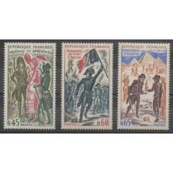 France - Poste - 1972 - Nb 1729/1731 - Napoleon