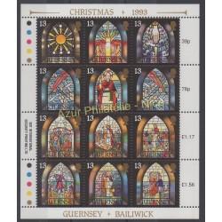 Guernsey - 1993 - Nb 630/641 - Christmas