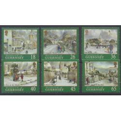Guernesey - 2000 - No 878/883 - Noël