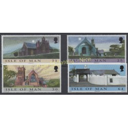 Man (Isle of) - 1999 - Nb 871/874 - Churches