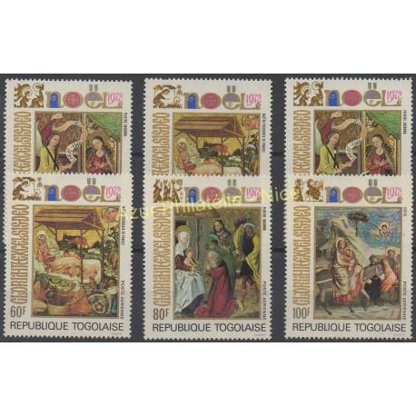 Togo - 1972 - No 760/762 - PA 193/ PA 195 - Noël