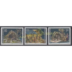 Liechtenstein - 2000 - No 1190/1192 - Noël