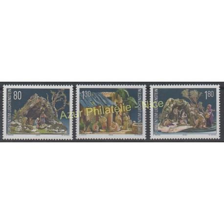 Liechtenstein - 2000 - Nb 1190/1192 - Christmas
