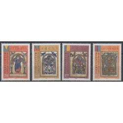 Liechtenstein - 1996 - No 1082/1085 - Noël