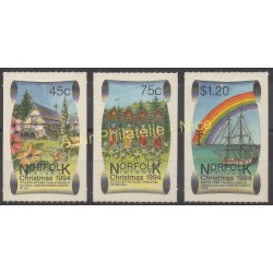 Norfolk - 1994 - No 564/566 - Monuments