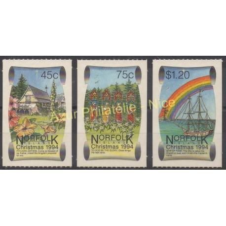 Norfolk - 1994 - No 564/566 - Monuments