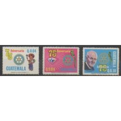 Guatemala - 1980 - No 437/439 - Rotary