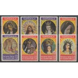 Guatemala - 1978 - Nb A637/A641 - A643/A645 - Easter