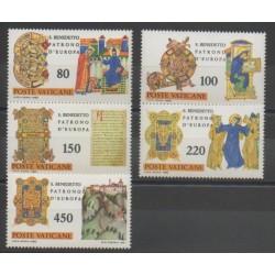 Vatican - 1980 - Nb 689/693 - Religion
