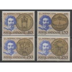 Vatican - 1980 - Nb 694/697