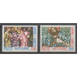 Vatican - 1980 - Nb 700/701 - Religion