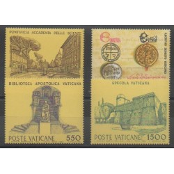 Vatican - 1984 - No 751/754 - Monuments