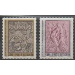 Vatican - 1982 - Nb 737/738 - Christmas - Paintings