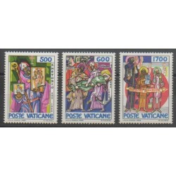 Vatican - 1985 - No 770/772 - Religion