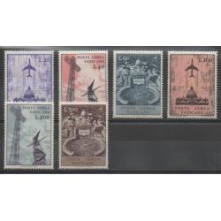 Vatican - 1967 - Nb PA47/PA52 - Monuments