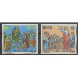Vatican - 1983 - Nb PA73/PA74 - Paintings - Religion