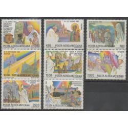 Vatican - 1986 - Nb PA75/PA82 - Pope