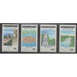 Mexique - 1979 - No 874/875 - PA505/PA506 - Monuments - Sites