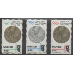 Mexico - 1980 - Nb 898/900 - Summer Olympics