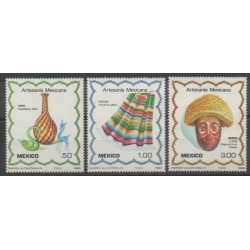 Mexique - 1980 - No 915/917 - Art