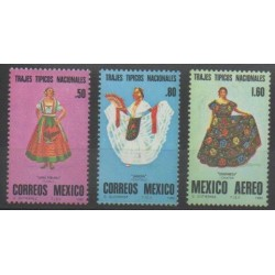 Mexico - 1980 - Nb 889/890 - PA529 - Costumes