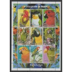 Niger - 1998 - No 1247/1255 - Oiseaux - Oblitéré