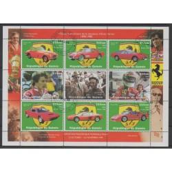 Guinée - 1998 - No 1342/1350 - Voitures - Oblitéré