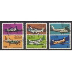 Grenadines - 1976 - Nb 164/169 - Planes - Used