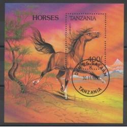 Tanzania - 1994 - Nb BF220 - Horses - Used