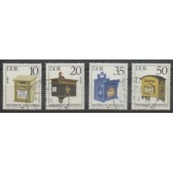 Allemagne orientale (RDA) - 1985 - No 2553/2556 - Oblitéré