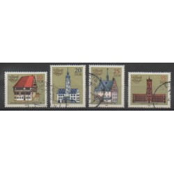 East Germany (GDR) - 1983 - Nb 2420/2423 - Monuments - Used