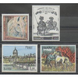 France - Poste - 1978 - No 1982/1983 - 1994 - 2026 - Peinture - Chevaux