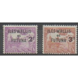 Wallis and Futuna - 1927 - Nb T9/T10