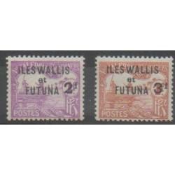 Wallis et Futuna - 1927 - No T9/T10