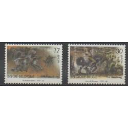 Belgique - 1997 - No 2694/2695 - Europa - Littérature