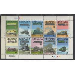 Grenade - 1989 - No 1733/1742 - Chemins de fer