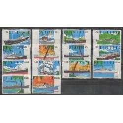 Saint-Christophe - 1990 - Nb 713/726 - Boats
